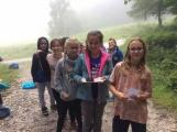 Škola v přírodě 4.B plná sportu