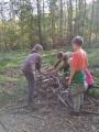 Výlet do Litultovic - lesní pedagogika 5. tříd